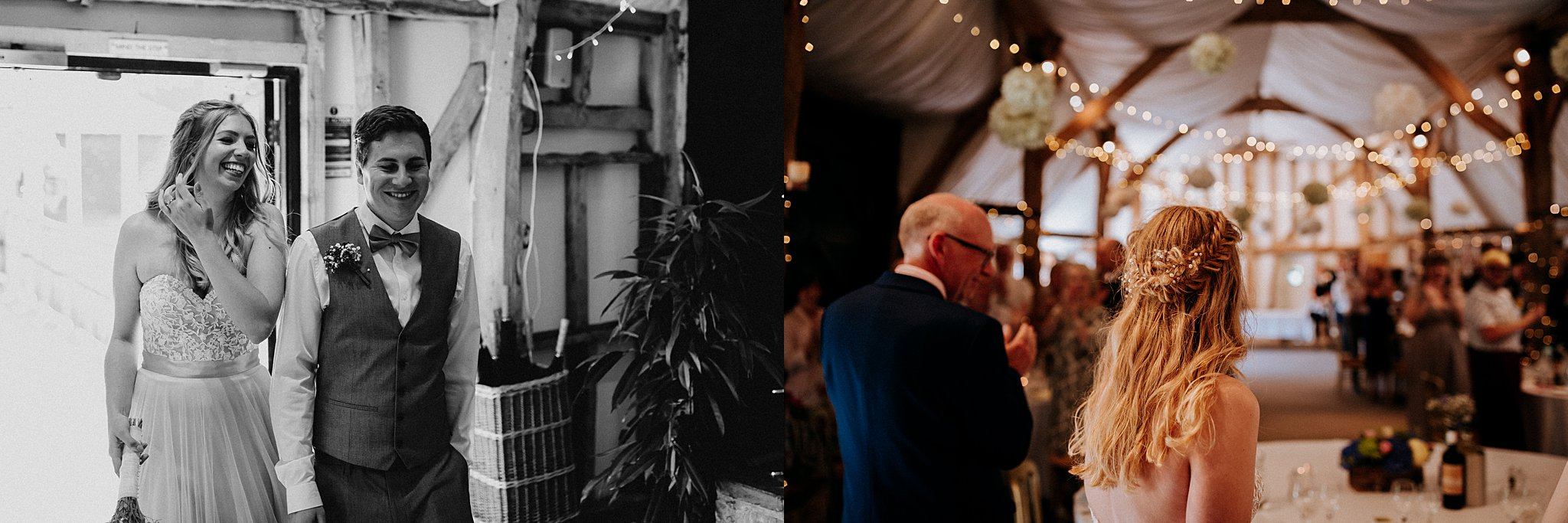 Relaxed Wedding photography South Farm