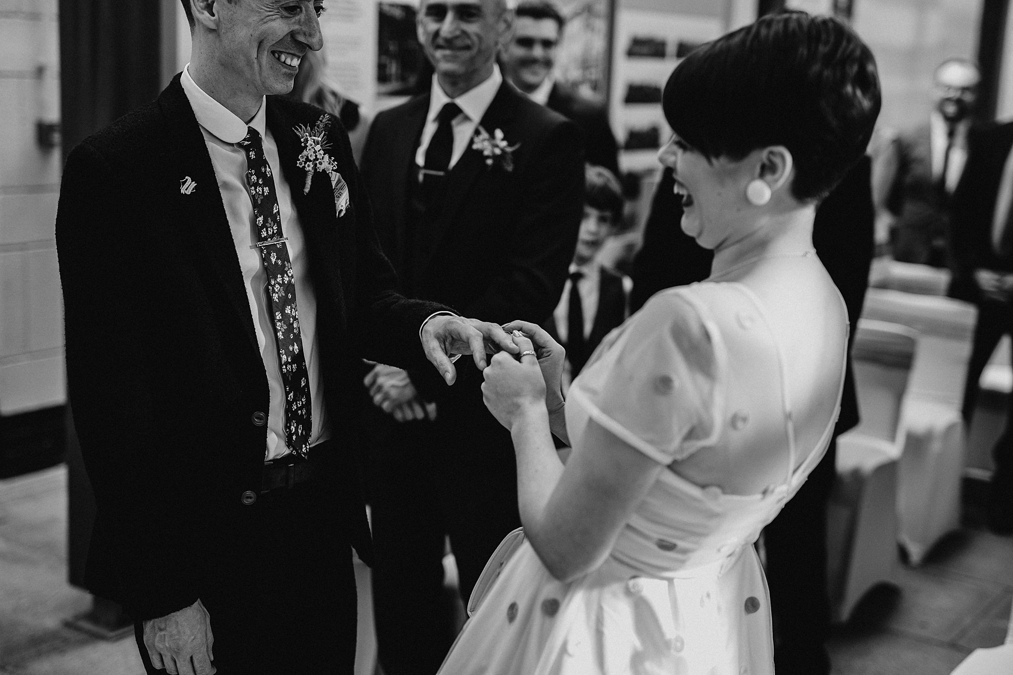 rock n roll wedding Photographer