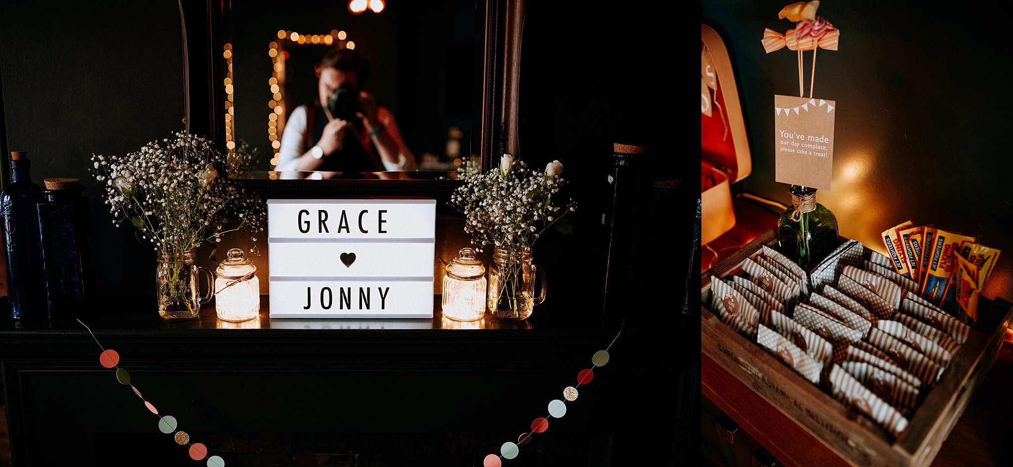relaxed wedding Photographer Rock n roll bride