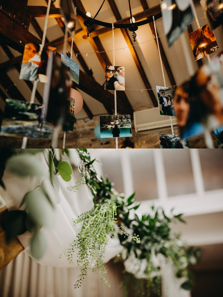 Headlam Hall Summer Wedding Photographer decor