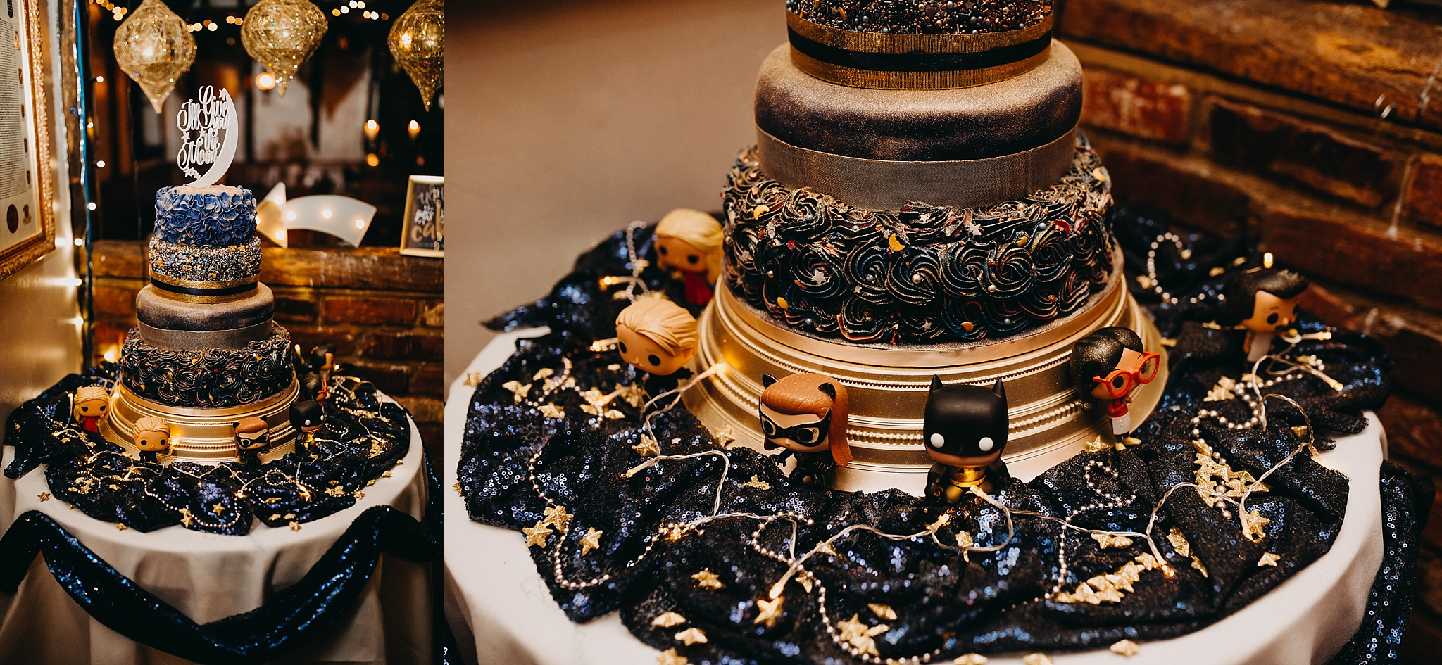 Peter Hugo Photography superhero wedding cake