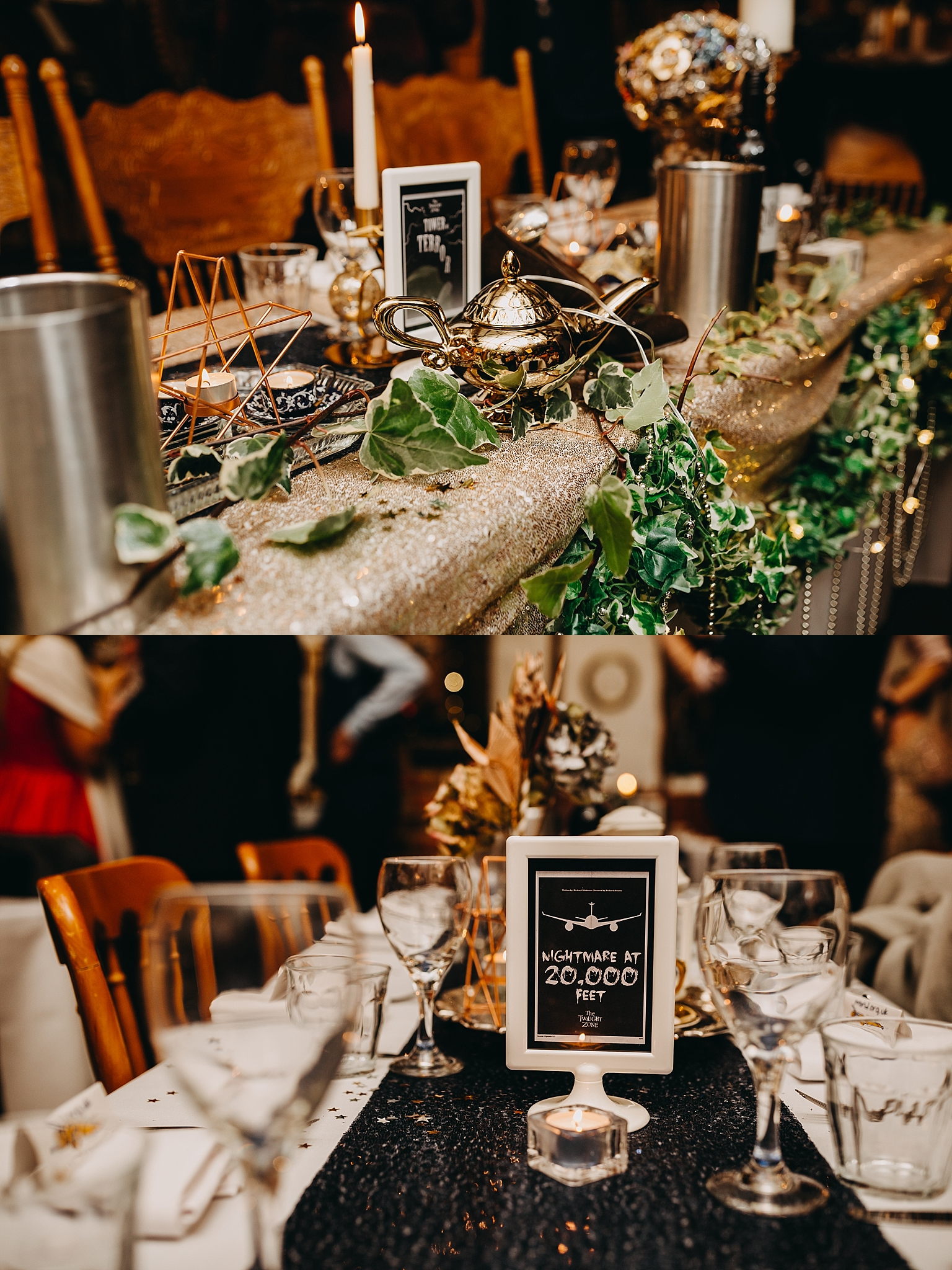 Peter Hugo Photography indie wedding decor