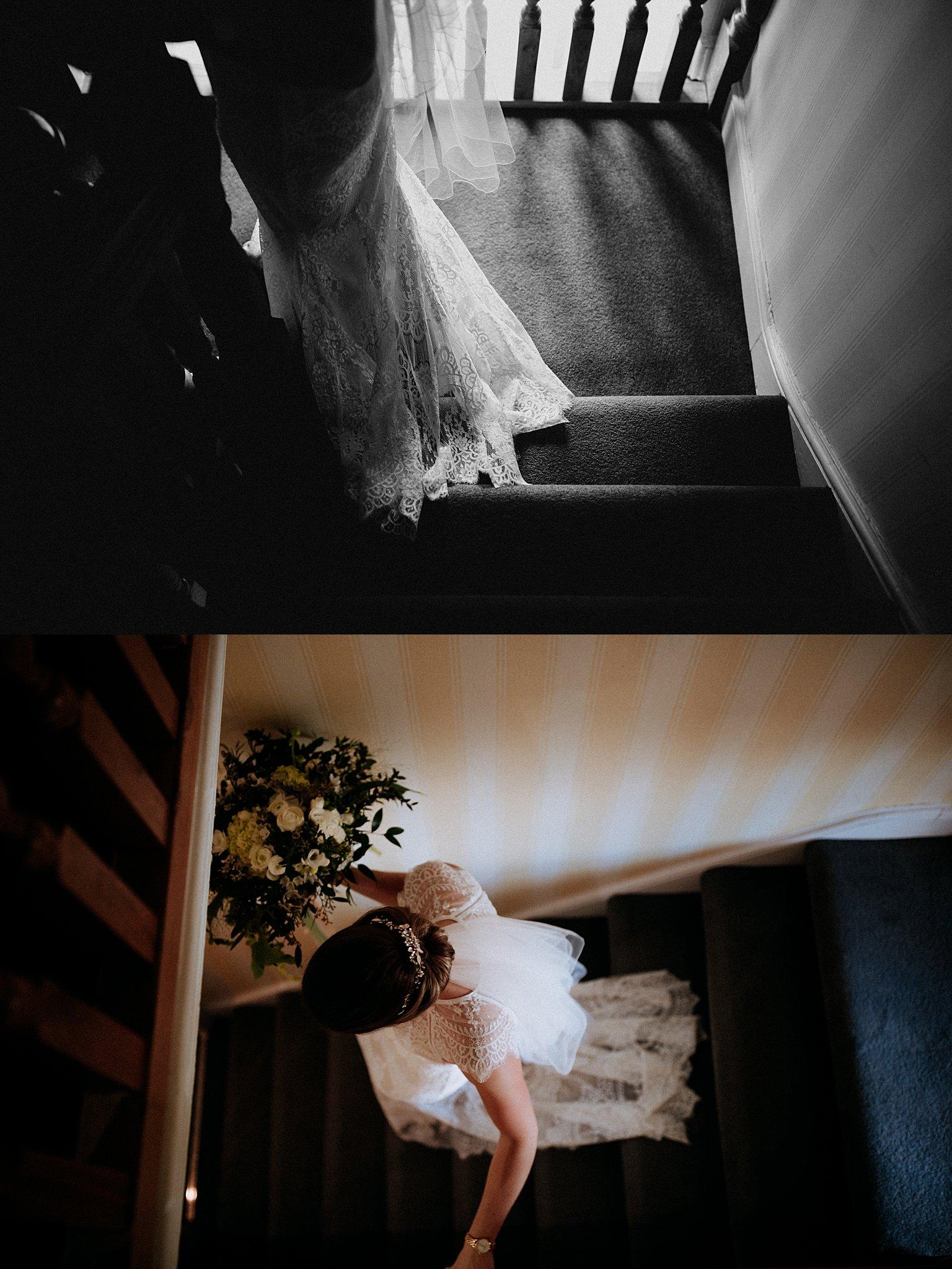 documentary Wedding photography eden barn
