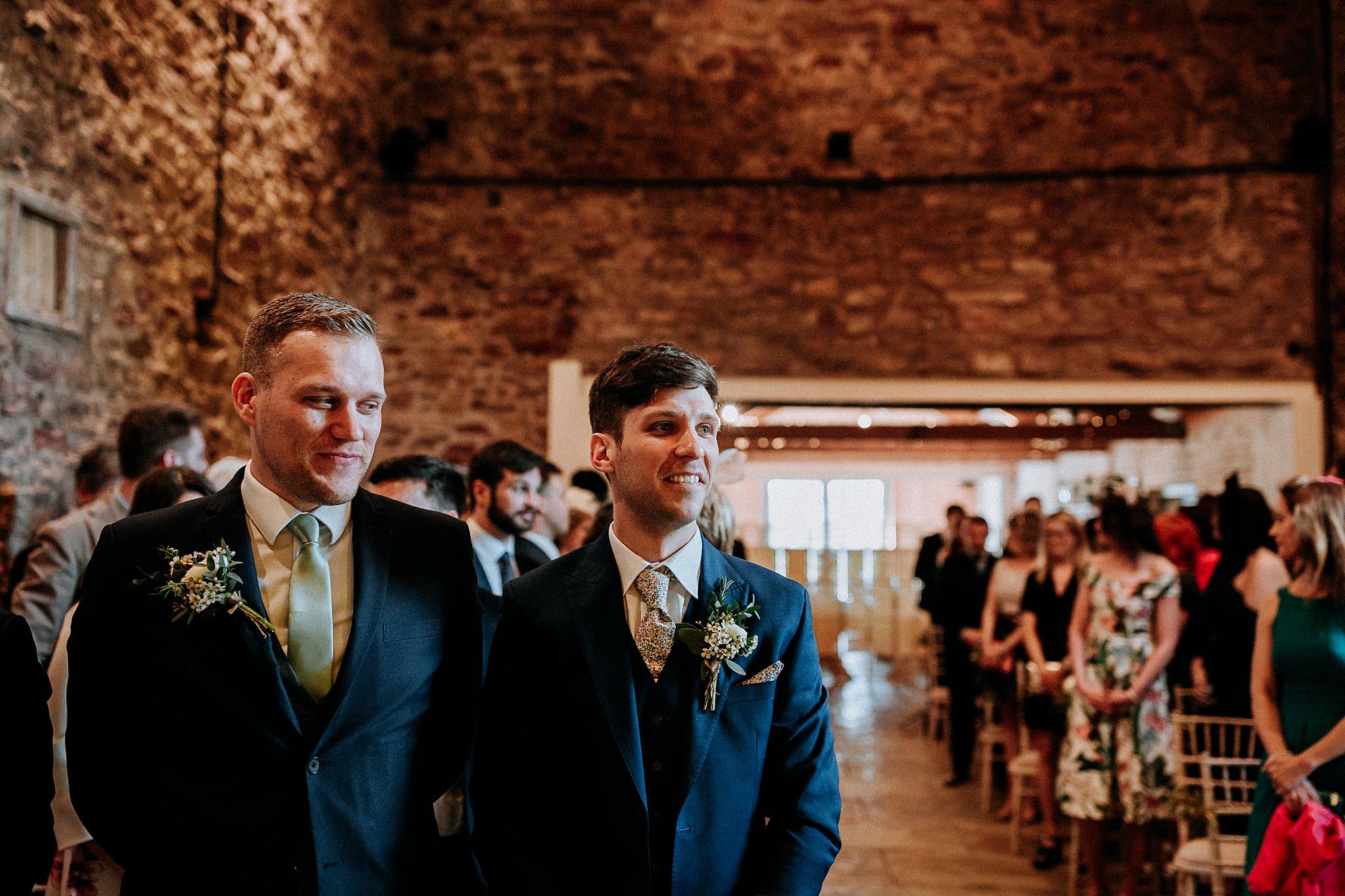 Natural Wedding photographer Eden Barn
