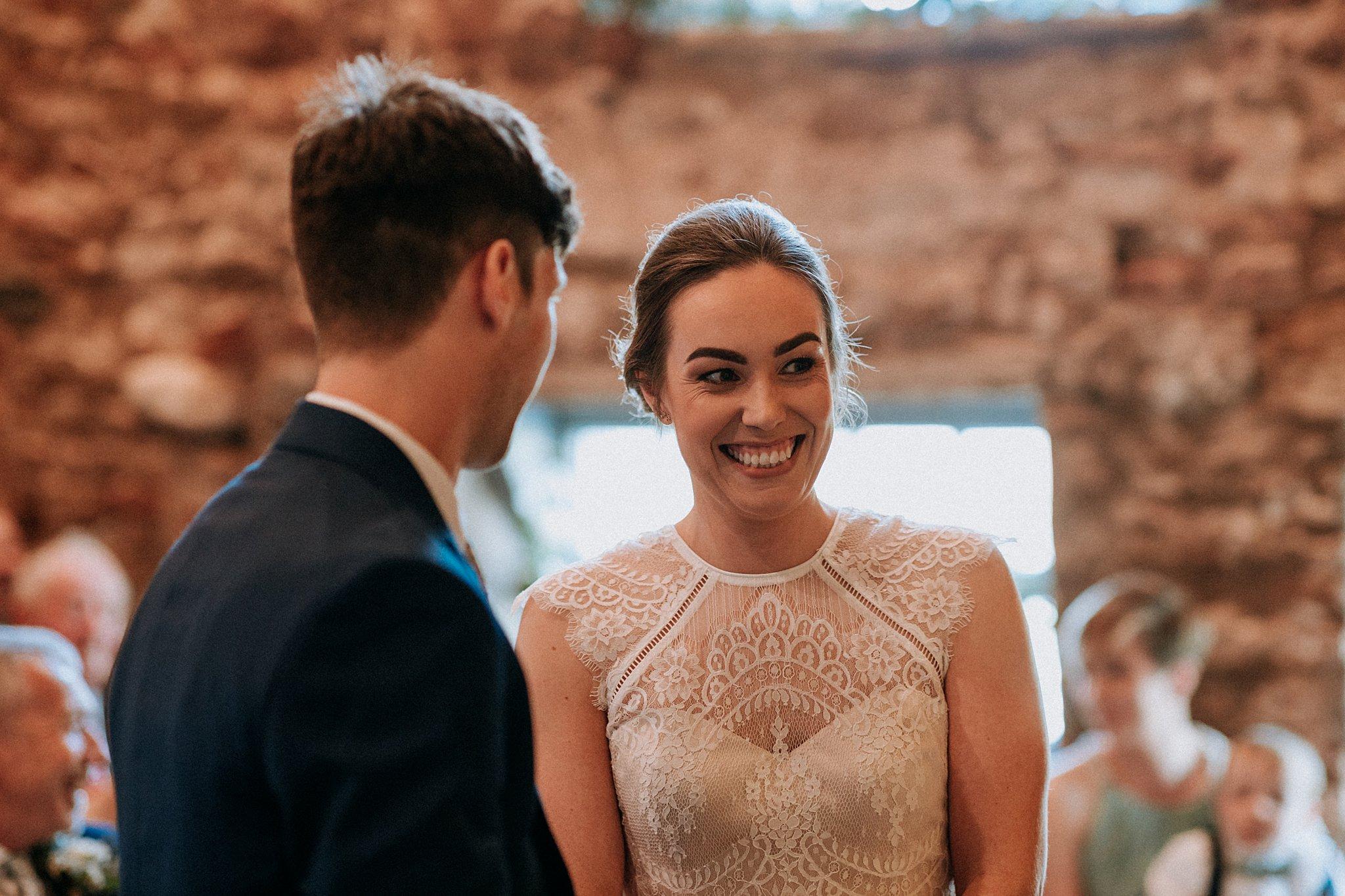Natural Wedding photography Eden Barn