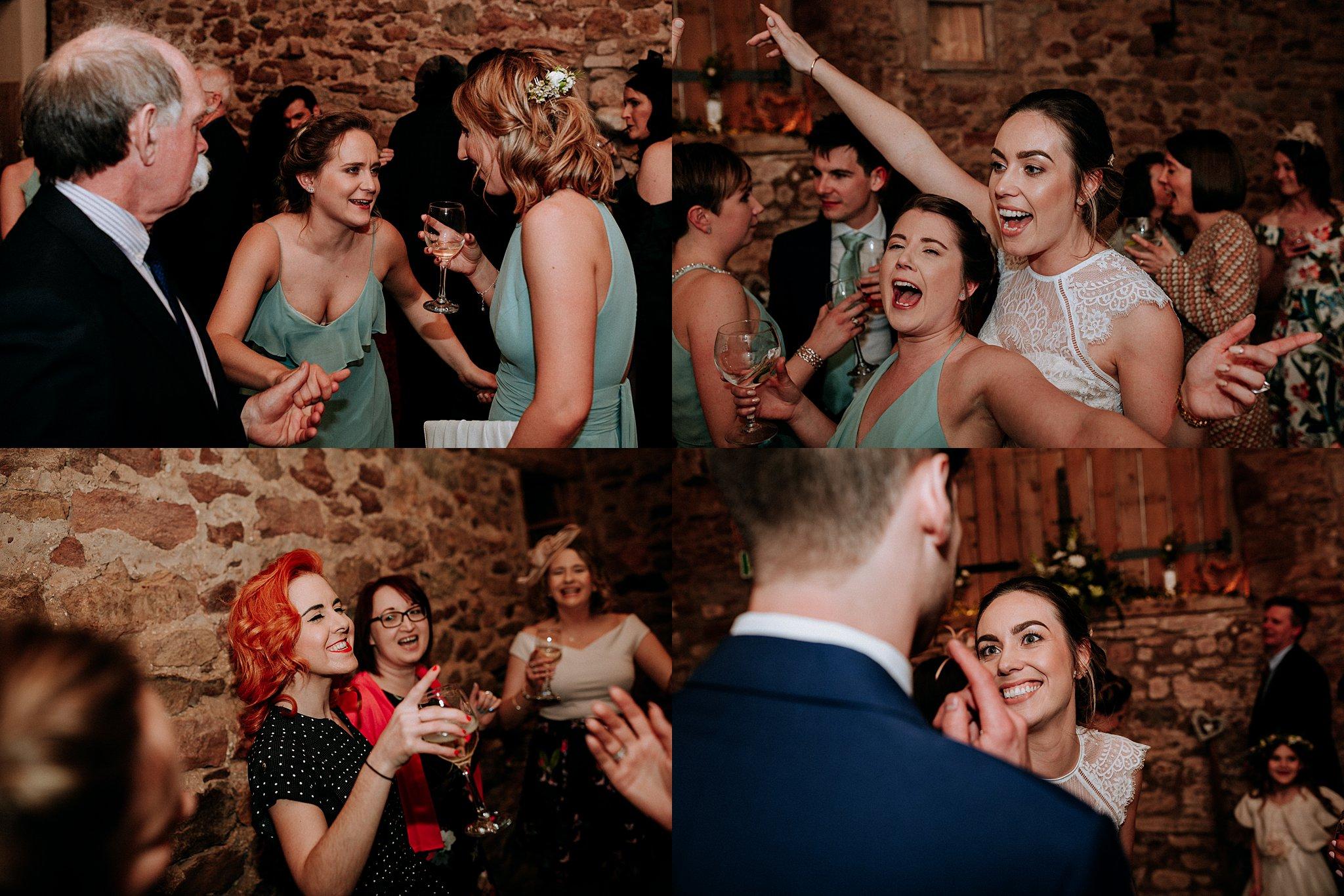 Relaxed Wedding photography Eden Barn