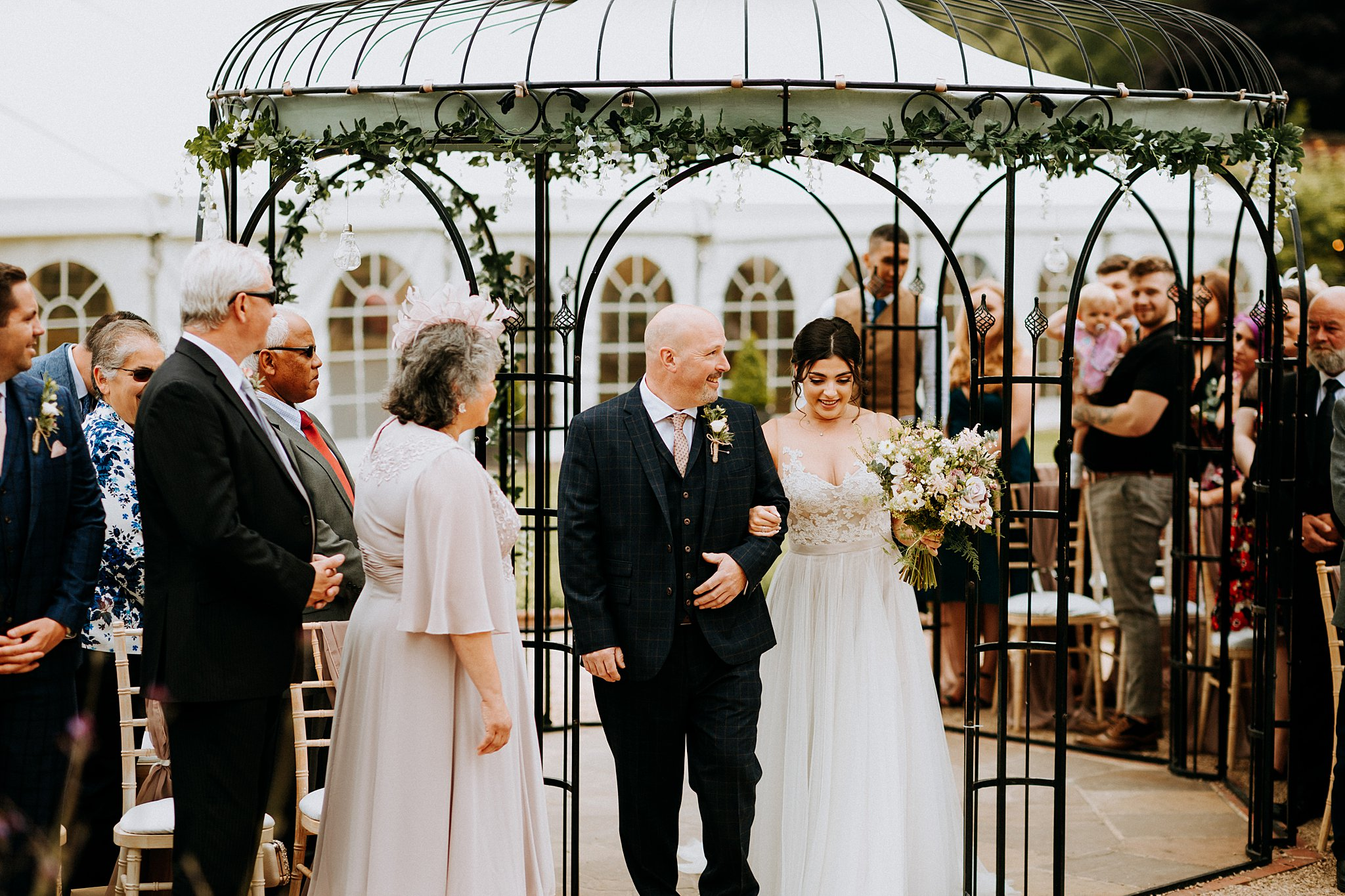 Documentary Wedding Photographer The Walled Garden