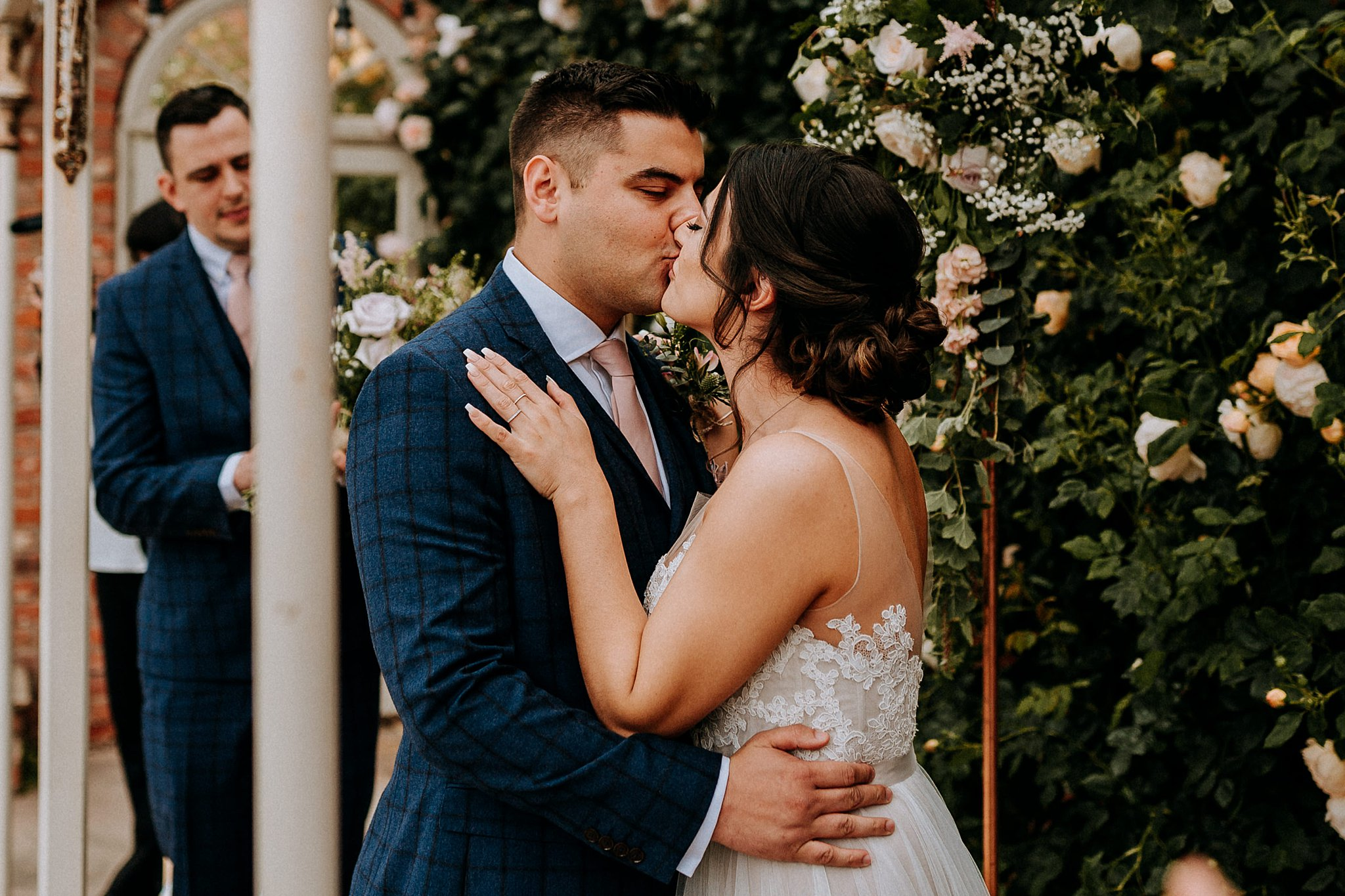 Documentary Wedding Photography The Walled Garden