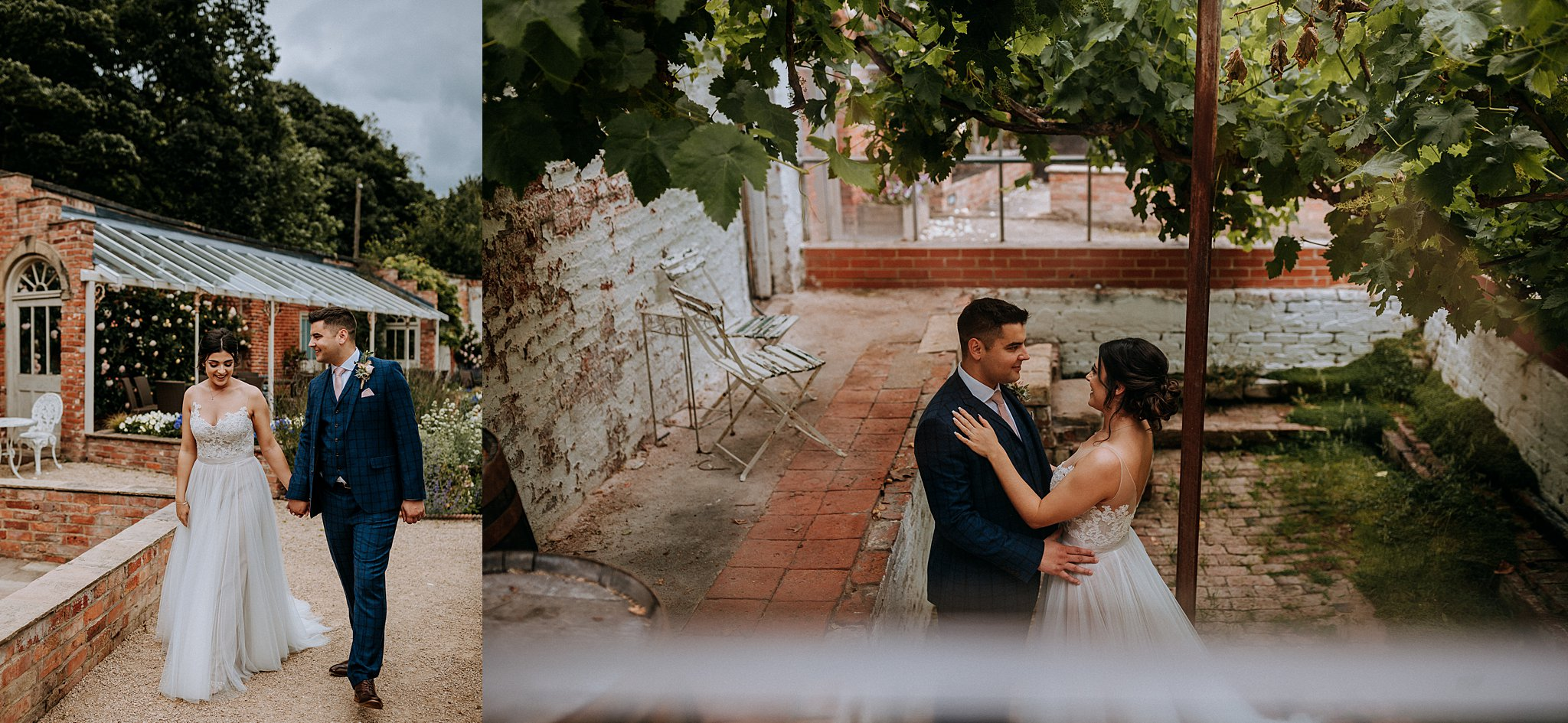 Walled Garden Wedding Photographer