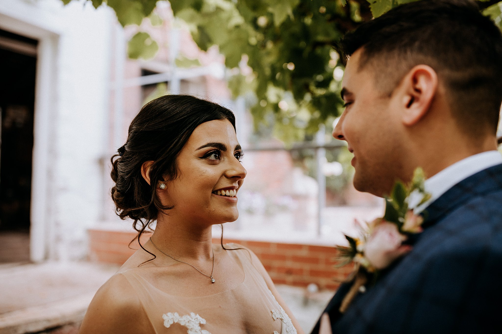 Walled Garden Wedding Photography