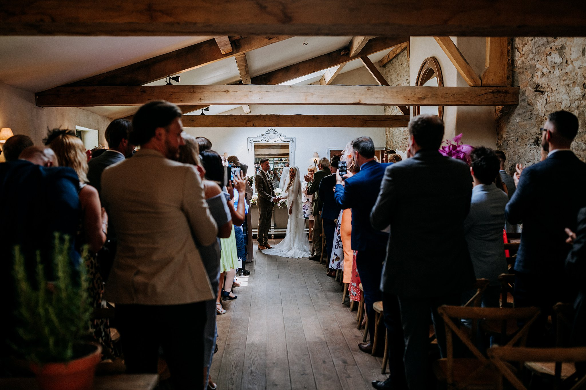 Natural Wedding photography middleton lodge