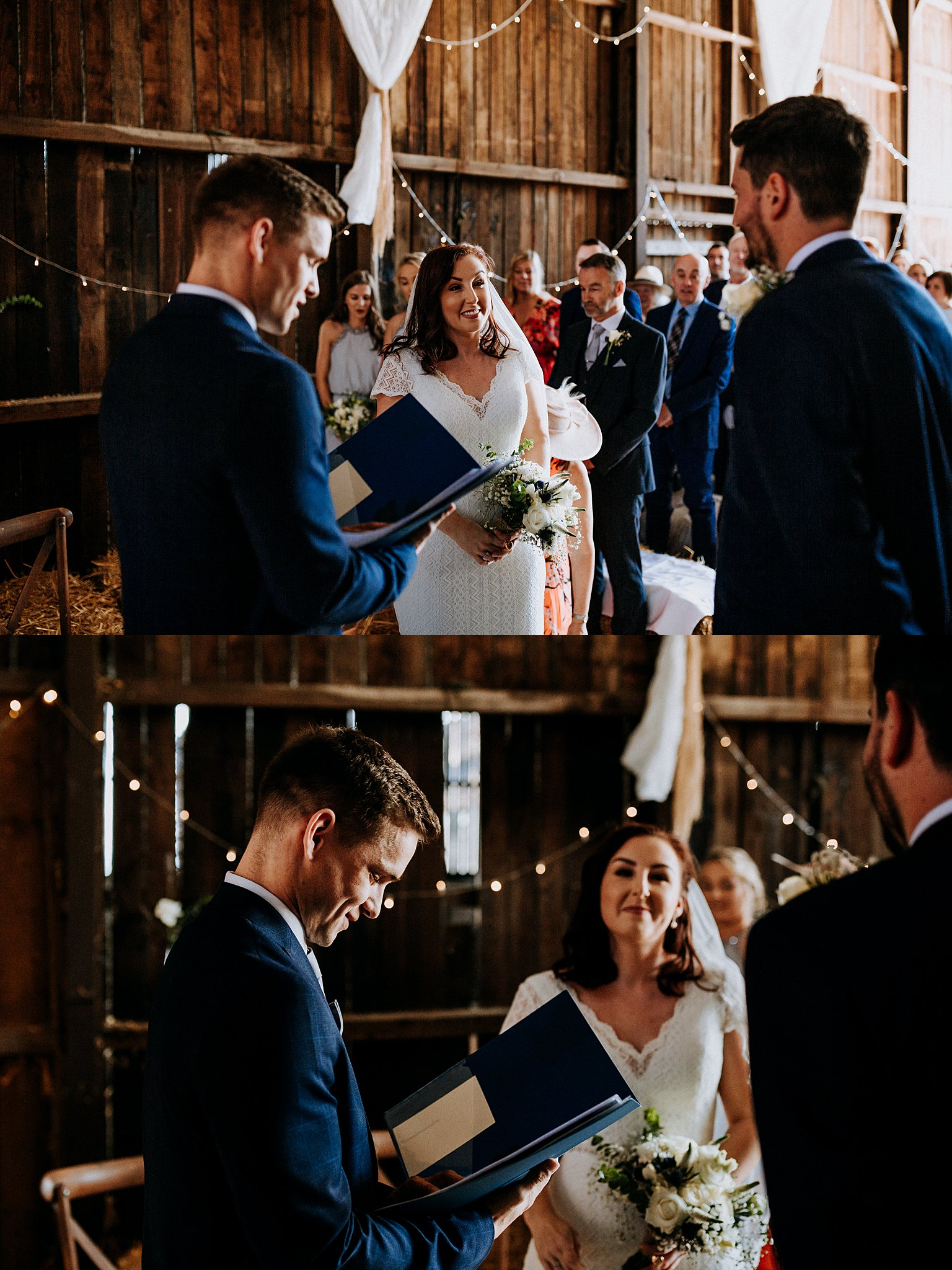 candid wedding photographer Deepdale Farm